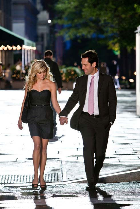 Reese Witherspoon and Paul Rudd played love interests in their 1998 film &#39;Overnight Delivery&#39; and again in their 2010 film, &#39;How Do You Know.&#39; &#40;Pictured: Reese Witherspoon and Paul Rudd appear in a still from their 2010 film, &#39;How Do You Know.&#39;&#41; <span class=meta>(Columbia Pictures)</span>