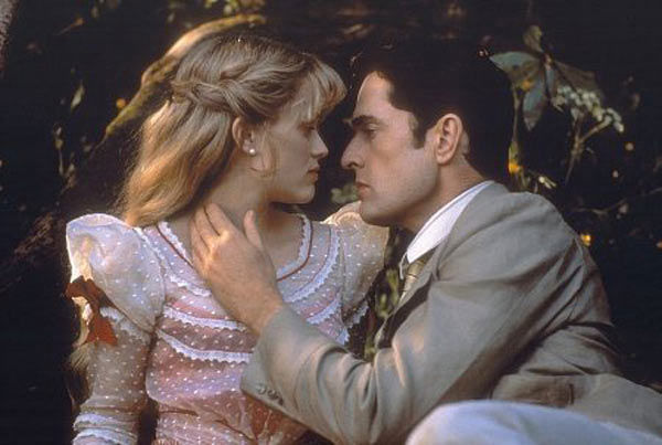 "<div class=""meta ""><span class=""caption-text "">Witherspoon collects antique linens and old embroidery. (Pictured: Reese Witherspoon and Rupert Everett appear in a still from their 2002 film, 'The Importance of Being Earnest.') (Miramax Films)</span></div>"