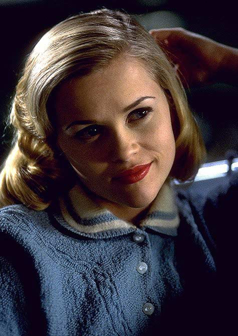 Witherspoon majored in English Literature at Stanford University, she has been on-leave from her studies as of 1996. &#40;Pictured: Reese Witherspoon appears in a still from her 1998 film, &#39;Pleasantville.&#39;&#41; <span class=meta>(New Line Cinema)</span>
