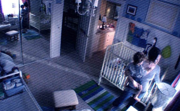 Sprague Grayden appears in a scene from the 2010 movie, 'Paranormal Activity 2.'