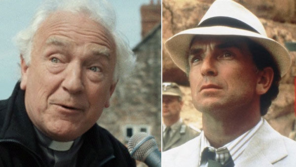 (Pictured: Paul Freeman appears in a scene from the 2007 comedy 'Hot Fuzz.' / Paul Freeman appears as Dr. Ren� Belloq in the 1981 movie 'Raiders of the Lost Ark.')