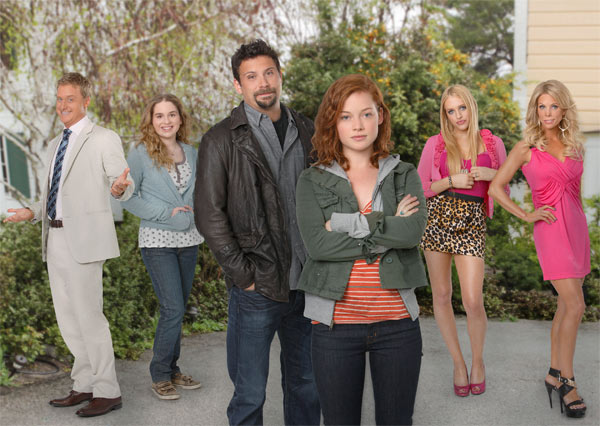 &#39;Suburgatory,&#39; a new ABC series starring Jeremy Sisto, debuts on Sept. 28, 2011 and will air on Wednesdays from 8:30 to 9 p.m. <span class=meta>(ABC &#47; Craig Sjodin)</span>