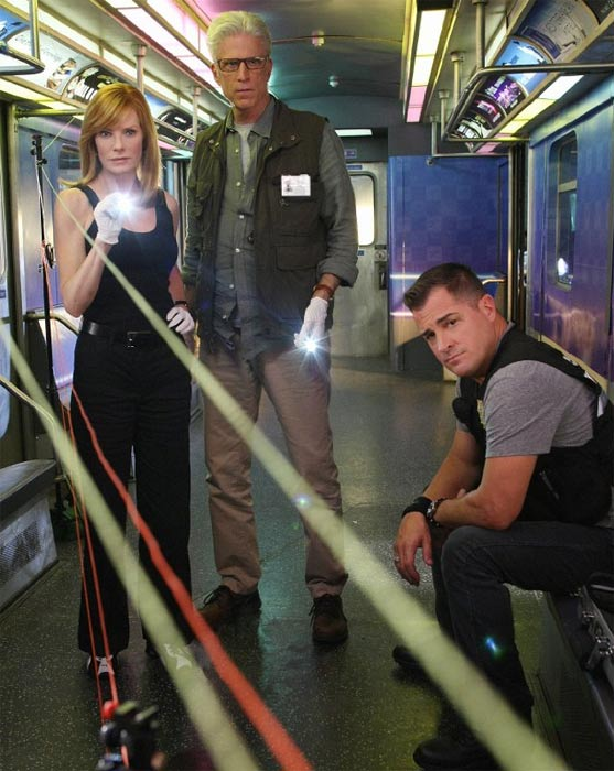 Still image from the show 'CSI.'