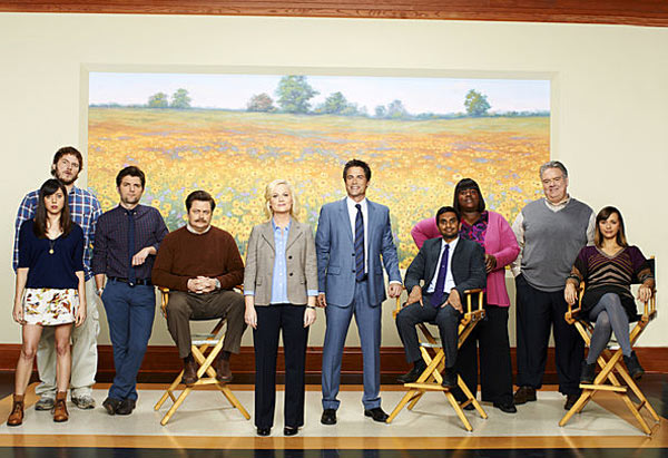 "<div class=""meta ""><span class=""caption-text "">Season 4 of 'Parks and Recreation,' featuring Amy Poehler, premieres on NBC on Sept. 22, 2011 and will air on Thursdays from 8:30 to 9 pm. (NBC / Mitchell Haaseth)</span></div>"