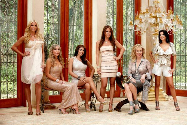 The cast of &#39;The Real Housewives of Miami,&#39; set to premiere on Bravo on February 22 at 10 p.m. Pictured: &#40;l-r&#41; Alexia Echevarria, Marysol Patton, Larsa Pippen, Cristy Rice, Lea Black, Adriana Sidi. <span class=meta>(Photo&#47;Adam Olszweski)</span>