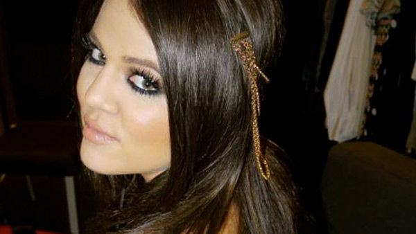 Khloe Kardashian is seen in this 2010 photo posted on her website.