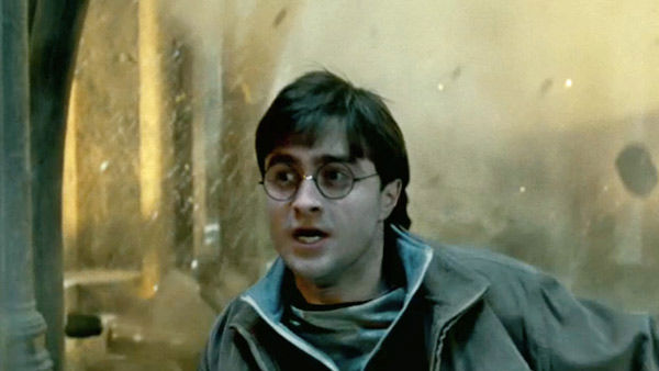 Daniel Radcliffe Harry Potter And The Deathly Hallows Part 2 'Harry Potter' cast ov...