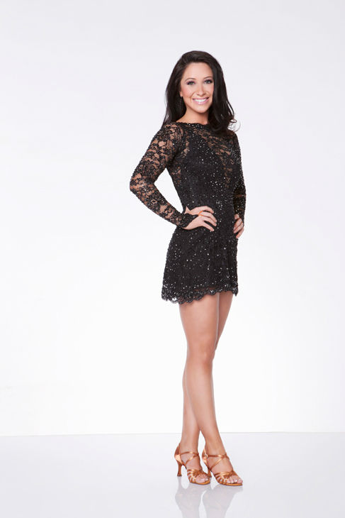 Bristol Palin appears in an official cast photo for 'Dancing With The Stars: All-Stars' season 15.