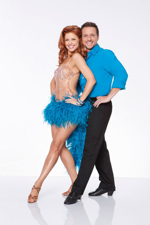 Drew Lachey and Anna Trebunskaya appear in an official cast photo for &#39;Dancing With The Stars: All-Stars&#39; season 15. The new season of &#39;Dancing with the Stars,&#39; premieres on Monday, September 24 at 8 p.m. on ABC. <span class=meta>(ABC &#47; Craig Sjodin)</span>