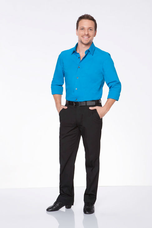 Drew Lachey appears in an official cast photo for 'Dancing With The Stars: All-Stars' season 15.