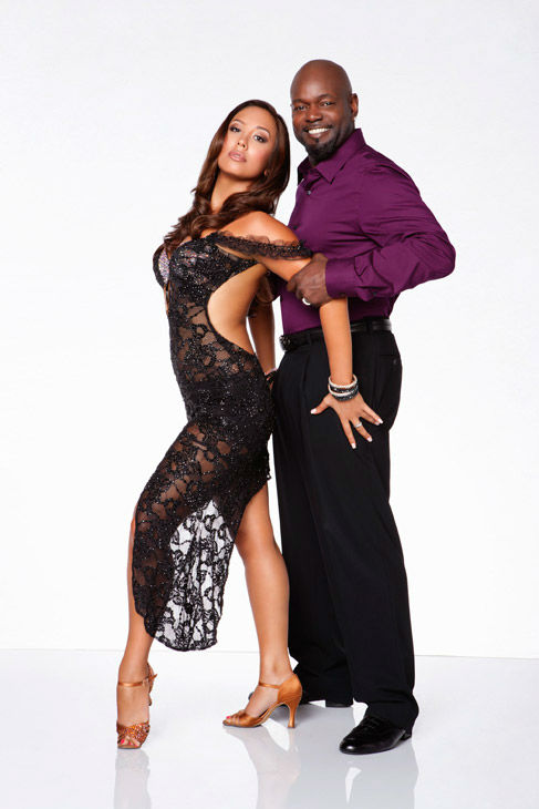 Emmitt Smith and two-time champ Cheryl Burke, who were partners in season 3, appear in an official cast photo for &#39;Dancing With The Stars: All-Stars&#39; season 15. The new season of &#39;Dancing with the Stars,&#39; premieres on Monday, September 24 at 8 p.m. on ABC. <span class=meta>(ABC &#47; Craig Sjodin)</span>