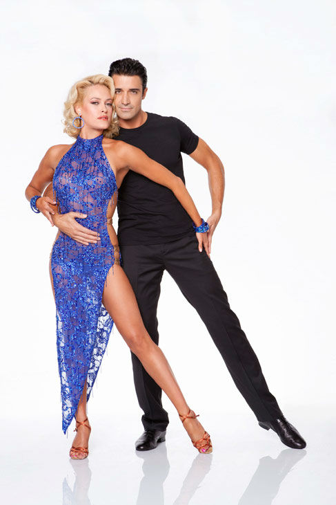 Gilles Marini and Peta Murgatroyd appear in an...
