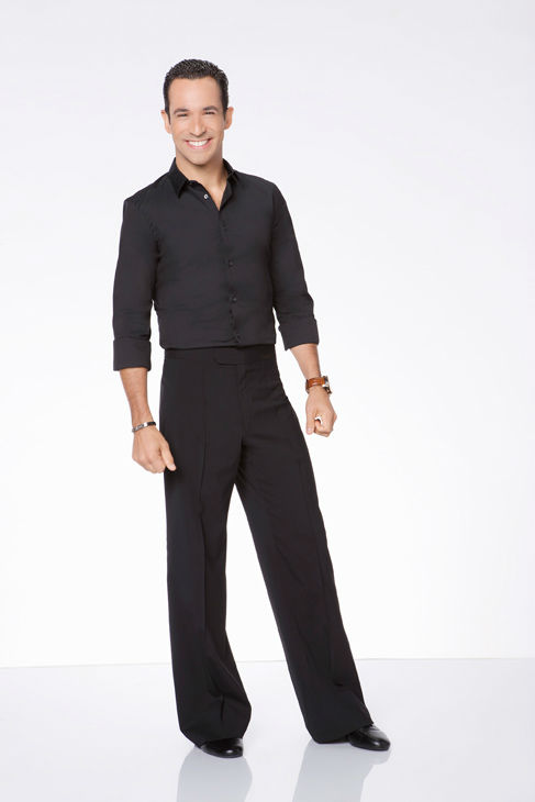 Helio Castroneves appears in an official cast photo for &#39;Dancing With The Stars: All-Stars&#39; season 15. The new season of &#39;Dancing with the Stars,&#39; premieres on Monday, September 24 at 8 p.m. on ABC. <span class=meta>(ABC &#47; Craig Sjodin)</span>