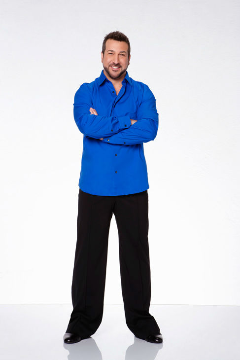 Joey Fatone appears in an official cast photo...