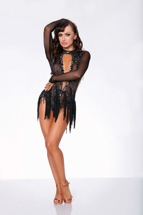 "<div class=""meta ""><span class=""caption-text "">Season 13 champ Karina Smirnoff appears in an official cast photo for 'Dancing With The Stars: All-Stars' season 15. The new season of 'Dancing with the Stars,' premieres on Monday, September 24 at 8 p.m. on ABC. (ABC / Craig Sjodin)</span></div>"