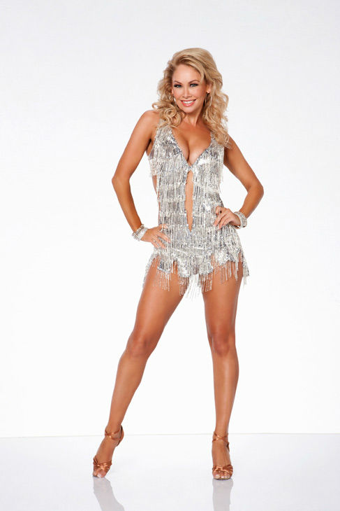 Kym Johnson appears in an official cast photo for 'Dancing With The Stars: All-Stars' season 15.