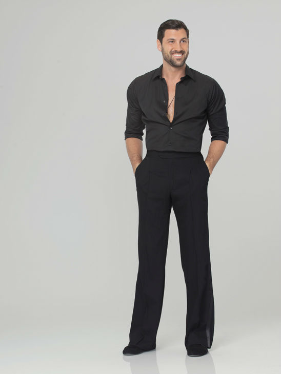 Maksim Chmerkovskiy appears in an official cast photo for &#39;Dancing With The Stars: All-Stars&#39; season 15. The new season of &#39;Dancing with the Stars,&#39; premieres on Monday, September 24 at 8 p.m. on ABC. <span class=meta>(ABC &#47; Craig Sjodin)</span>
