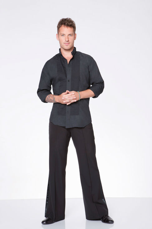 Tristan MacManus appears in an official cast photo for 'Dancing With The Stars: All-Stars' season 15.