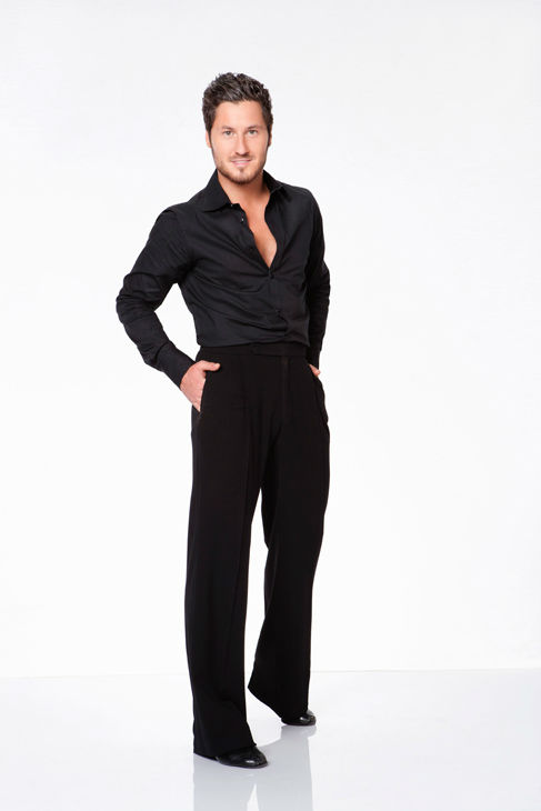 Valentin Chmerkovskiy appears in an official cast photo for 'Dancing With The Stars: All-Stars' season 15.