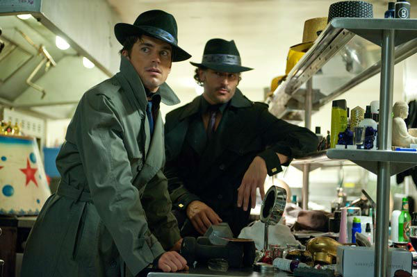"<div class=""meta ""><span class=""caption-text "">Matt Bomer and Joe Manganiello appear in a still from Warner Bros. Pictures' dramatic comedy 'Magic Mike,' which is slated for release on June 29, 2012. (Warner Bros. Pictures / Claudette Barius)</span></div>"