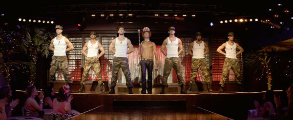"<div class=""meta ""><span class=""caption-text "">Adam Rodriguez, Alex Pettyfer, Matthew McCaonaughey, Channing Tatum, Kevin Nash and Matt Bommer appear in a still from Warner Bros. Pictures' dramatic comedy 'Magic Mike,' which is slated for release on June 29, 2012. (Courtesy of Warner Bros. Picture)</span></div>"