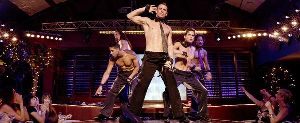 Adam Rodriguez, Kevin Nash, Channing Tatum, Matt Bommer and Joe Manganiello appear in a still from Warner Bros. Pictures&#39; dramatic comedy &#39;Magic Mike,&#39; which is slated for release on June 29, 2012. <span class=meta>(Courtesy of Warner Bros. Pictures)</span>