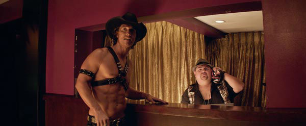 Matthew McConaughey and Gabriel Iglesias appear in a still from Warner Bros. Pictures' dramatic comedy 'Magic Mike,' which is slated for release on June 29, 2012.