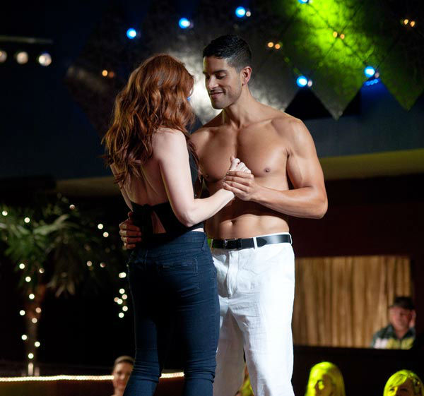 "<div class=""meta ""><span class=""caption-text "">Adam Rodriguez appears in a still from Warner Bros. Pictures' dramatic comedy 'Magic Mike,' which is slated for release on June 29, 2012. (Warner Bros. Pictures / Glen Wilson)</span></div>"