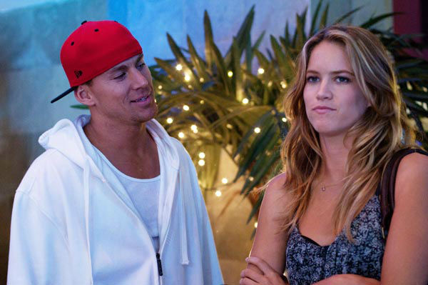 "<div class=""meta ""><span class=""caption-text "">Channing Tatum and Cody Horn appear in a still from Warner Bros. Pictures' dramatic comedy 'Magic Mike,' which is slated for release on June 29, 2012. (Warner Bros. Pictures / Glen Wilson)</span></div>"