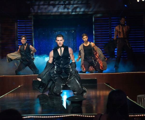 Matt Bomer, Channing Tatum, Adam Rodriguez and Joe Manganiello appear in a still from Warner Bros. Pictures&#39; dramatic comedy &#39;Magic Mike,&#39; which is slated for release on June 29, 2012. <span class=meta>(Warner Bros. Pictures &#47; Claudette Barius)</span>