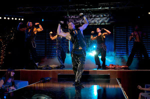 "<div class=""meta ""><span class=""caption-text "">Kevin Nash, Matt Bomer, Channing Taum, Adam Rodriguez and Joe Manganiello appear in a still from Warner Bros. Pictures' dramatic comedy 'Magic Mike,' which is slated for release on June 29, 2012. (Warner Bros. Pictures / Claudette Barius)</span></div>"