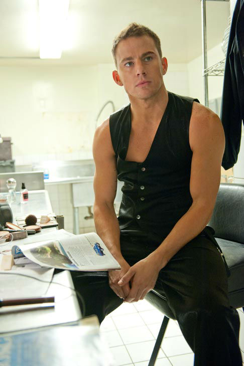Channing Tatum appears in a still from Warner...