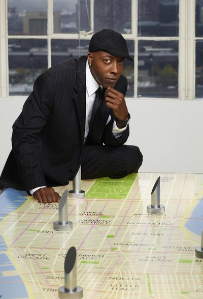 Arsenio Hall appears in a promotional photo for...