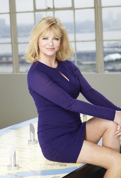 Cheryl Tiegs appears in a promotional photo for...
