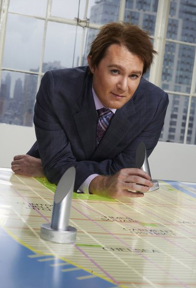 Clay Aiken appears in a promotional photo for the fifth season of the 2012 hit reality show 'The Celebrity Apprentice.'