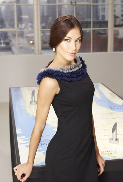 Dayana Mendoza appears in a promotional photo for the fifth season of the 2012 reality show 'The Celebrity Apprentice.'