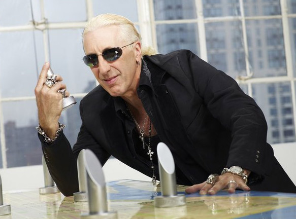 Dee Snider appears in a promotional photo for the fifth season of the 2012 hit reality show 'The Celebrity Apprentice.')