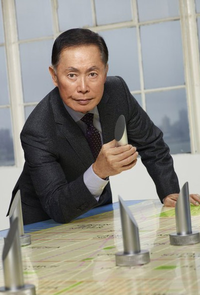 George Takei appears in a promotional photo for the fifth season of the 2012 hit reality show 'The Celebrity Apprentice.'
