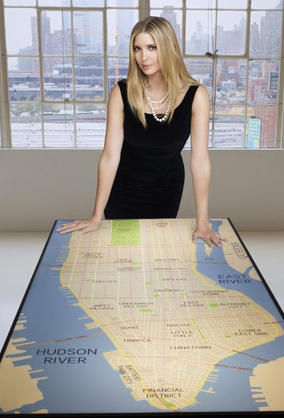 Ivanka Trump appears in a promotional photo for the fifth season of the 2012 hit reality show 'The Celebrity Apprentice.'