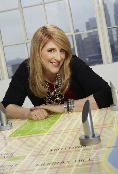 Lisa Lampanelli appears in a promotional photo for the fifth season of the 2012 hit reality show 'The Celebrity Apprentice.'
