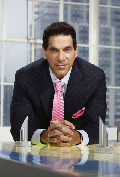 Lou Ferrigno appears in a promotional photo for the fifth season of the 2012 hit reality show 'The Celebrity Apprentice.'