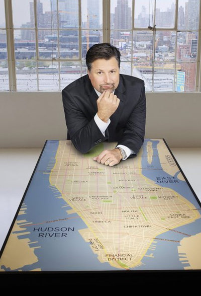 Michael Andretti appears in a promotional photo for the fifth season of the 2012 hit reality show 'The Celebrity Apprentice.'