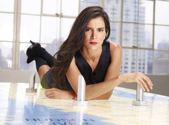 Patricia Velasquez appears in a promotional photo for the fifth season of the 2012 hit reality show 'The Celebrity Apprentice.'