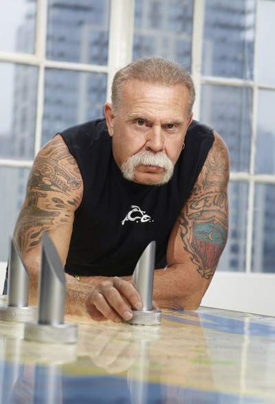 Paul Teutul Sr., known for his role in the series &#39;American Chopper: The Series,&#39; is one of the 2012 contestants of Donald Trump&#39;s reality show &#39;The Celebrity Apprentice.&#39; Teutul Sr. is also known for owning Orange County Choppers, along with his signature mustache.  &#40;Pictured: Paul Teutul Sr. appears in a promotional photo for the fifth season of the 2012 hit reality show &#39;The Celebrity Apprentice.&#39;&#41;  <span class=meta>(NBC &#47; Trump Productions LLC &#47; Mark Burnett Productions)</span>