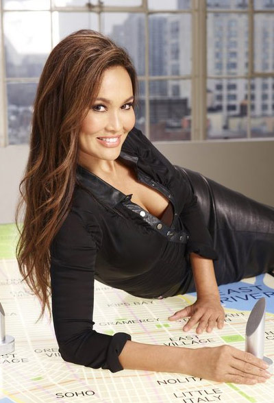 Tia Carrere appears in a promotional photo for the fifth season of the 2012 hit reality show 'The Celebrity Apprentice.'