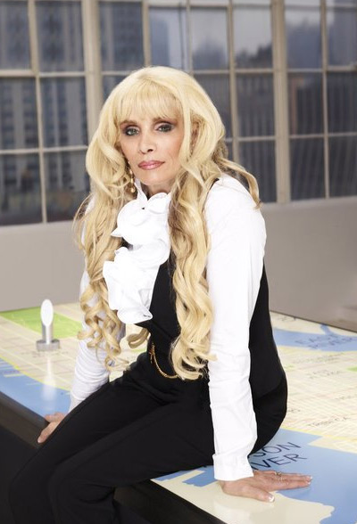 Victoria Gotti appears in a promotional photo for the fifth season of the 2012 hit reality show 'The Celebrity Apprentice.'