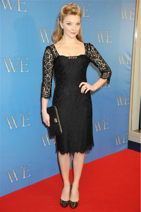 "<div class=""meta ""><span class=""caption-text "">Natalie Dormer (Margaery Tyrell on HBO's 'Game Of Thrones') appears at the premiere of 'W.E.' in London on Jan. 11, 2012. (Richard Young / Rex / Startraksphoto.com)</span></div>"