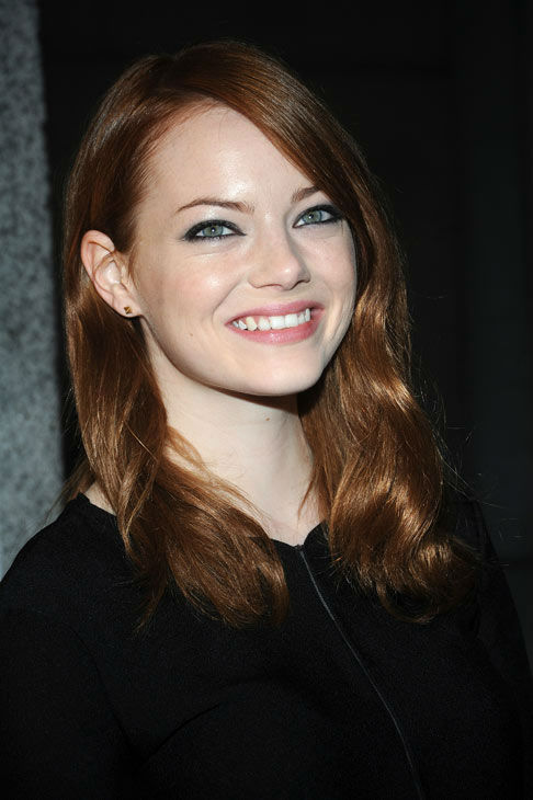 Emma Stone attends the Orphans Foundation&#39;s Seventh Annual Benefit Gala in New York, Monday, Nov. 14, 2011.  <span class=meta>(AP Photo&#47; Brad Barket)</span>