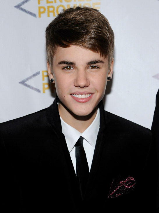 Singer Justin Bieber attends the &#39;Pencils Of Promise&#39; inaugural gala at Espace on Thursday, Nov. 17, 2011 in New York.  <span class=meta>(AP Photo&#47; Evan Agostini)</span>