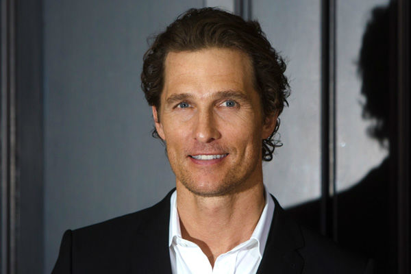 U.S. actor Matthew McConaughey poses for media...